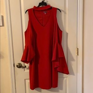 Vince Camuto Red Dress Size XL Worn Once